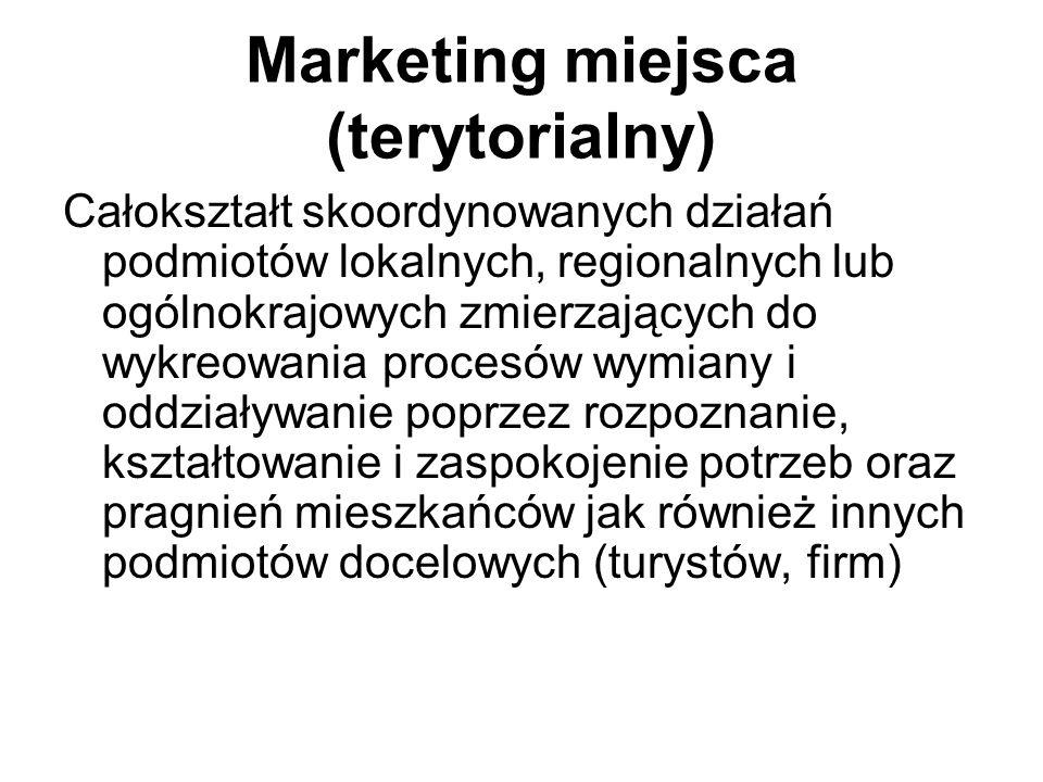 Marka narodowa Geneza marki narodowej wiąże się z interdyscyplinarnym pojęciem marketingu miejsca, który łączy i wykorzystuje wiedzę z różnych dziedzin: Strategii marki Polityki publicznej Stosunków międzynarodowych Dyplomacji Przywództwa i partnerstwa publiczno-prywatnego Rozwoju gospodarczego