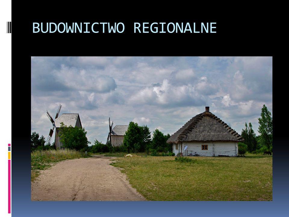 BUDOWNICTWO REGIONALNE