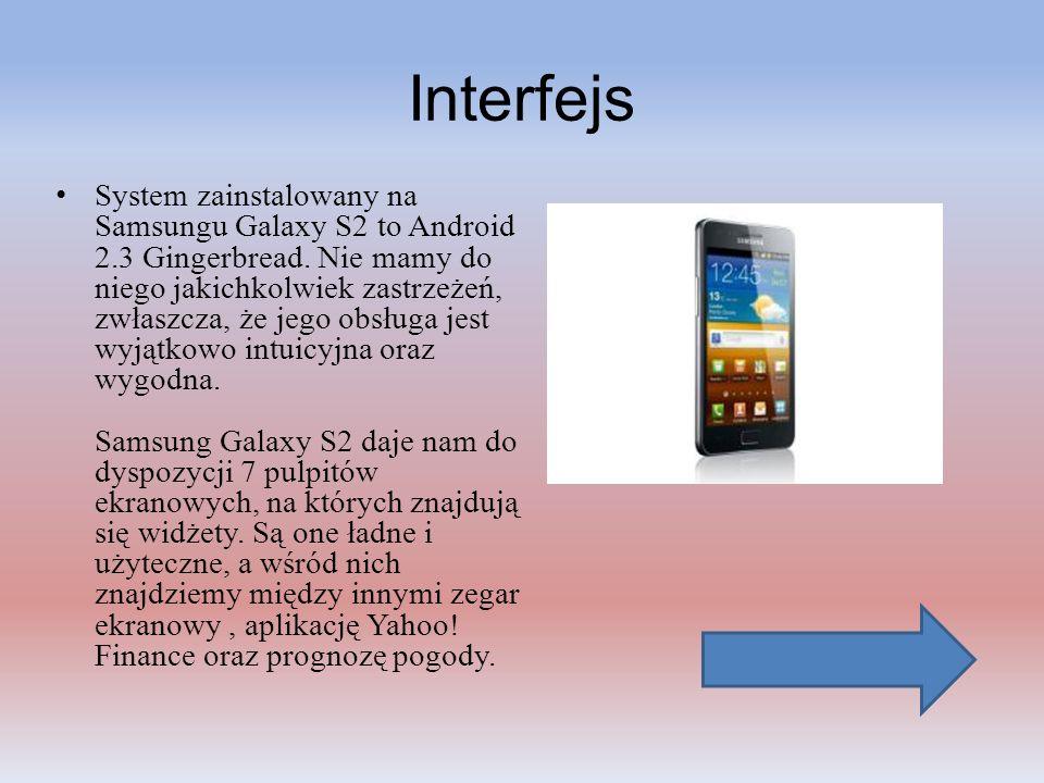 Multimedia i GPS Samsung Galaxy S2 pod tym względem nie ma się czego wstydzić.