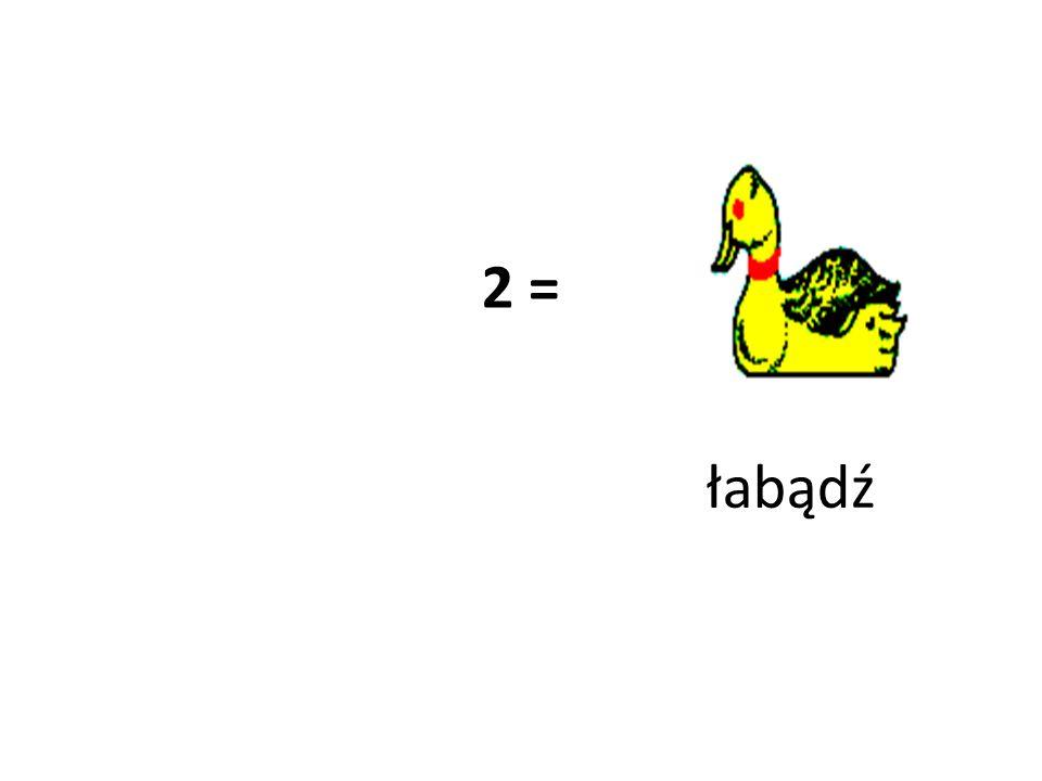 2 = łabądź