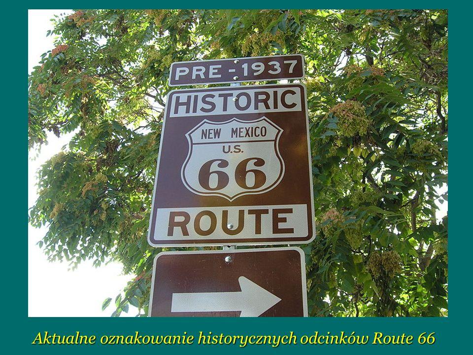 Historia Na przestrzeni swojego istnienia Droga 66 przeszła wiele przeróbek i napraw.