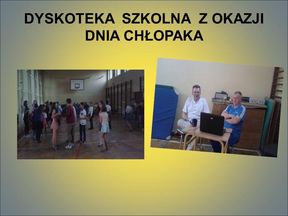 TANECZNA PRZERWA Po raz drugi SU zorganizował TANECZNĄ PRZERWĘ, która cieszyła się dużą popularnością wśród uczniów.
