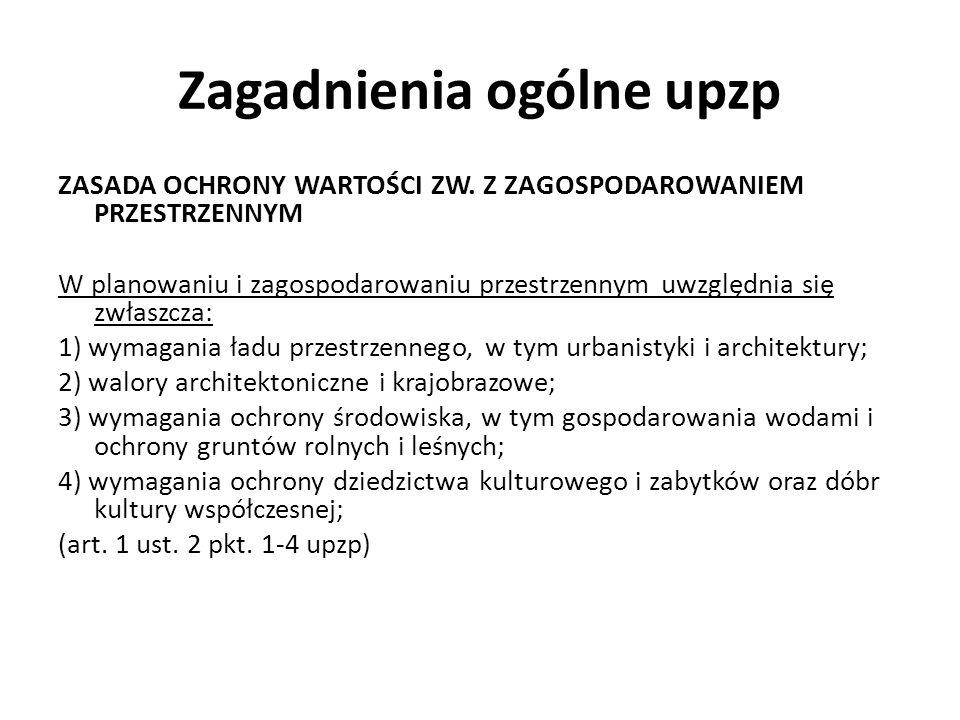 Zagadnienia ogólne upzp ZASADA OCHRONY WARTOŚCI ZW.