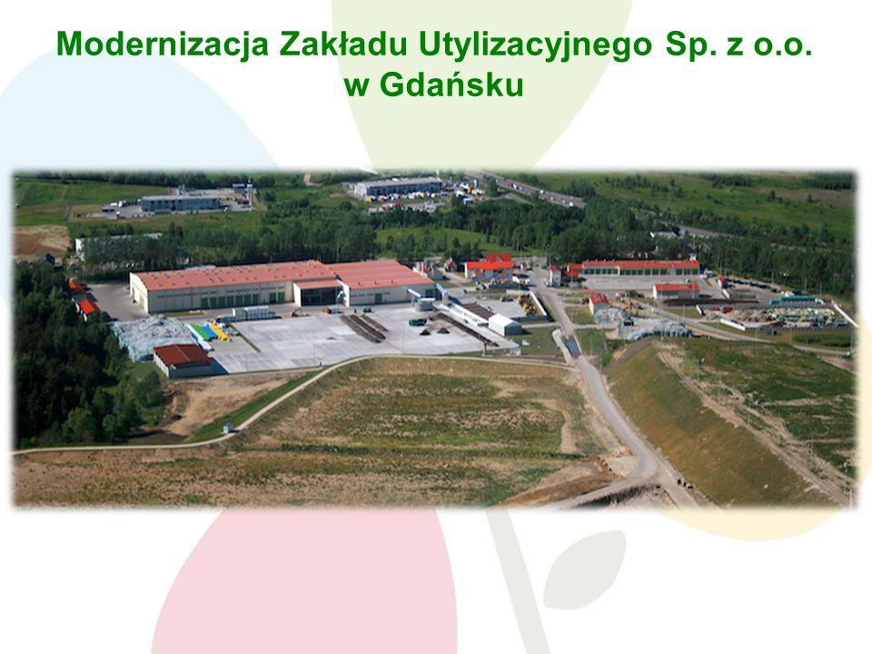 Modernizacja Zakładu Utylizacyjnego Sp. z o.o. w Gdańsku