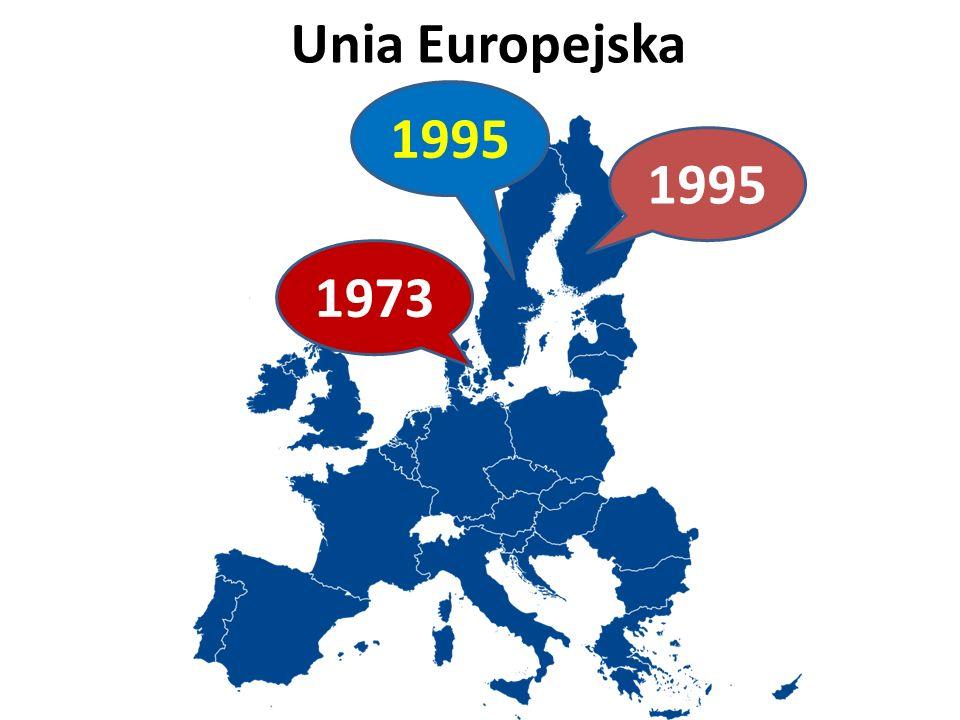 Unia Europejska 1995 1973