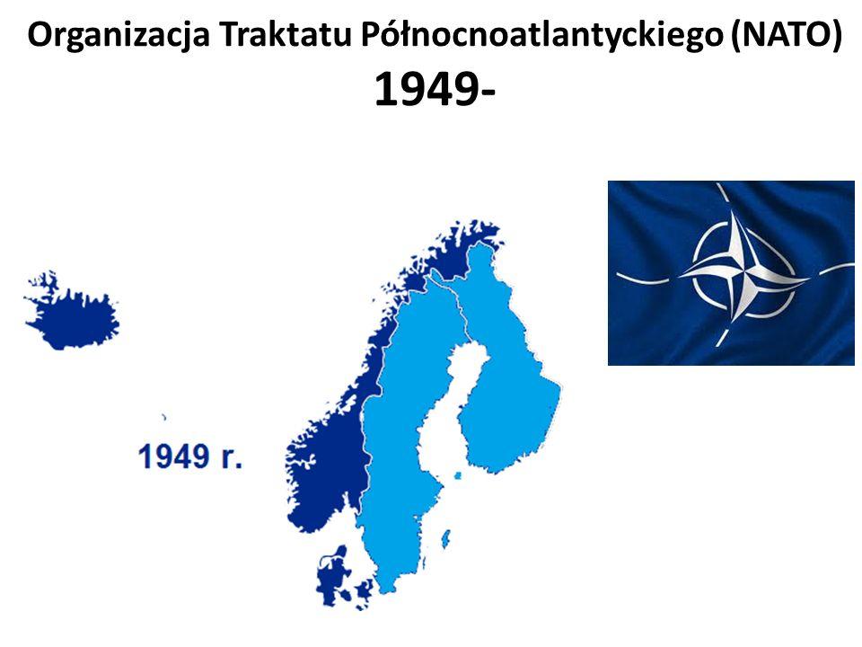 Organizacja Traktatu Północnoatlantyckiego (NATO) 1949-