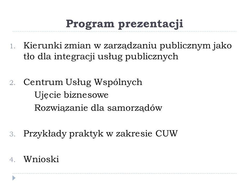 Program prezentacji 1.