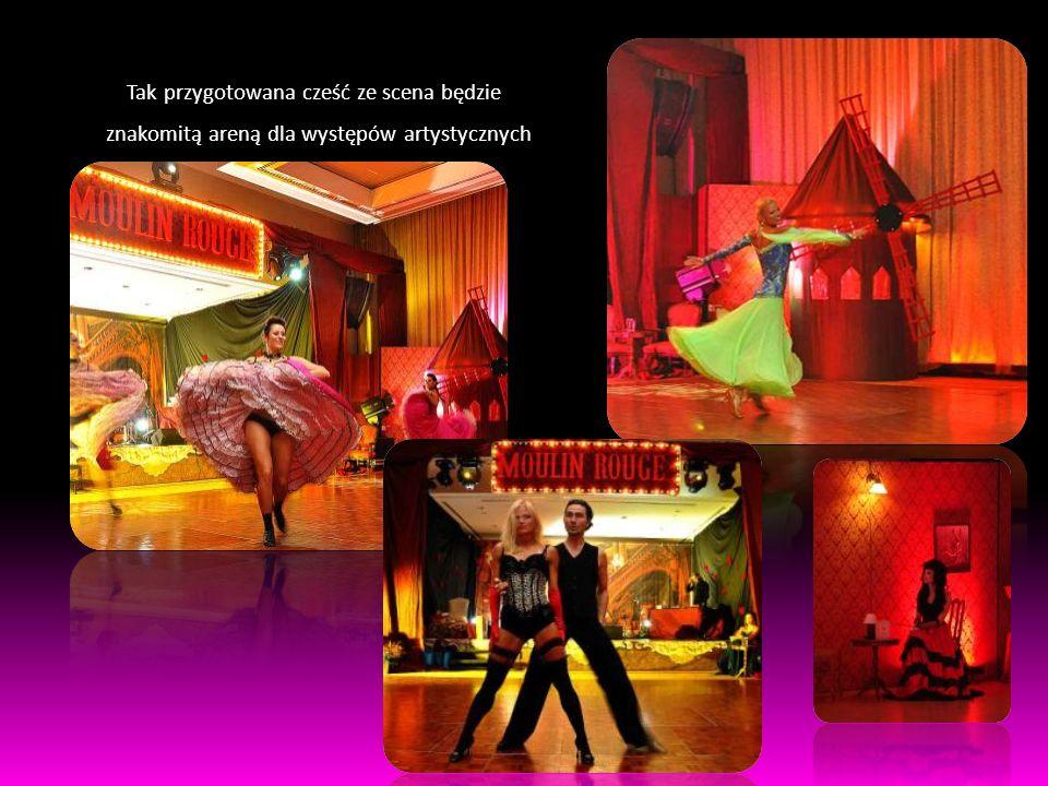Tak przygotowana cześć ze scena będzie znakomitą areną dla występów artystycznych