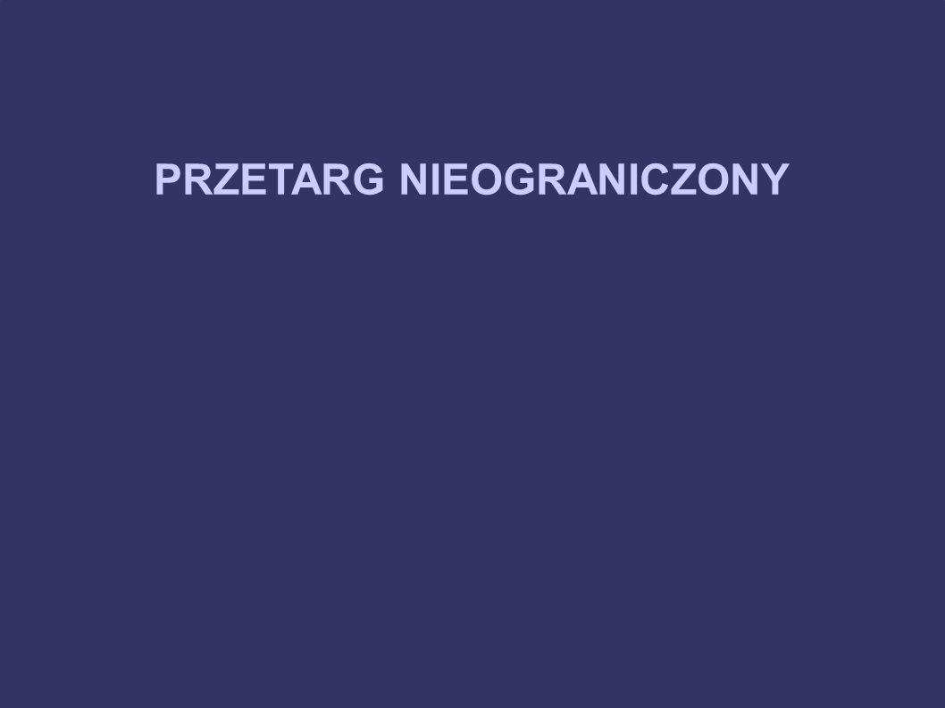 PRZETARG NIEOGRANICZONY 10.