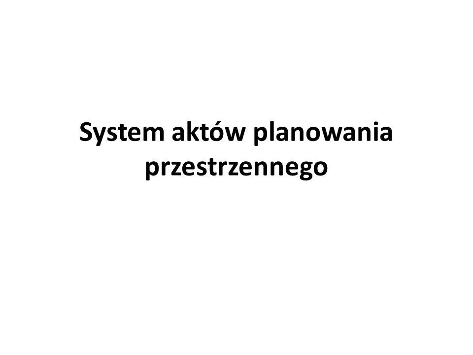 System aktów planowania przestrzennego Planowanie przestrzenne na szczeblu krajowym PROGRAMY RZĄDOWE Ministrowie i centralne organy administracji rządowej -występują do marszałka właściwego województwa -z wnioskiem o wprowadzenie programu rządowego do planu zagospodarowania przestrzennego województwa.