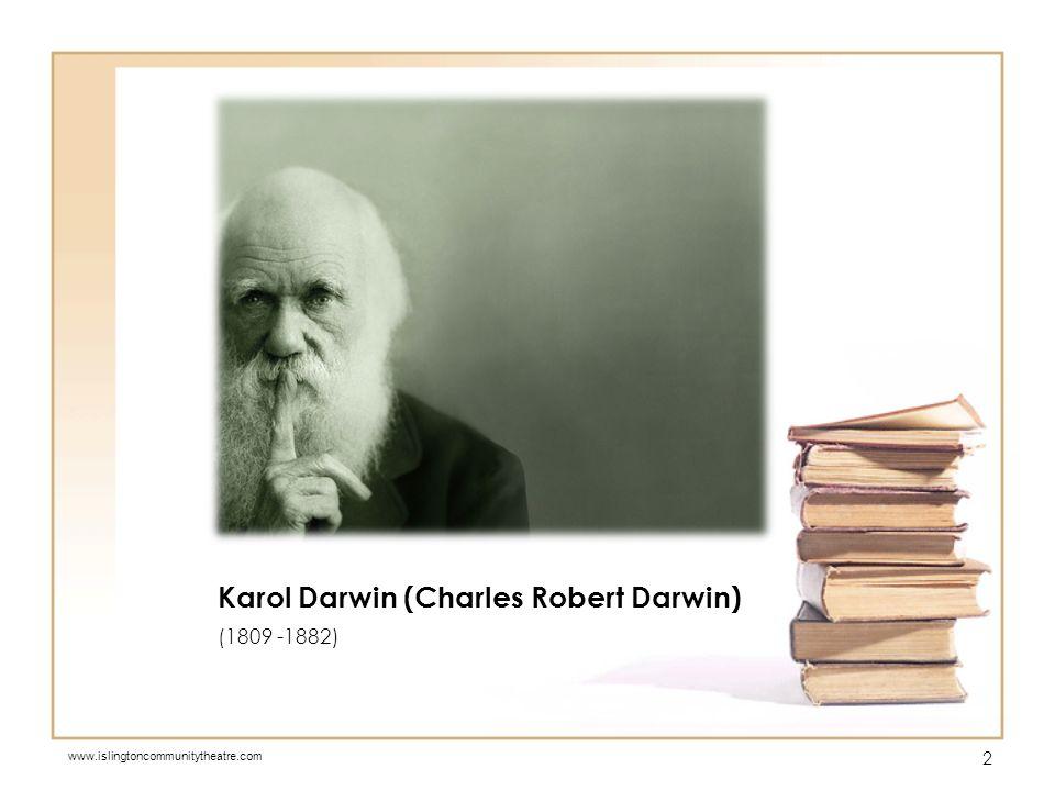 O powstawaniu gatunków (On the Origin of Species) opublikowana w 1859 r., Darwin zawarł w niej podstawy swojej teorii ewolucji, wysunął teorię o ewolucji gatunków w procesie naturalnej selekcji.