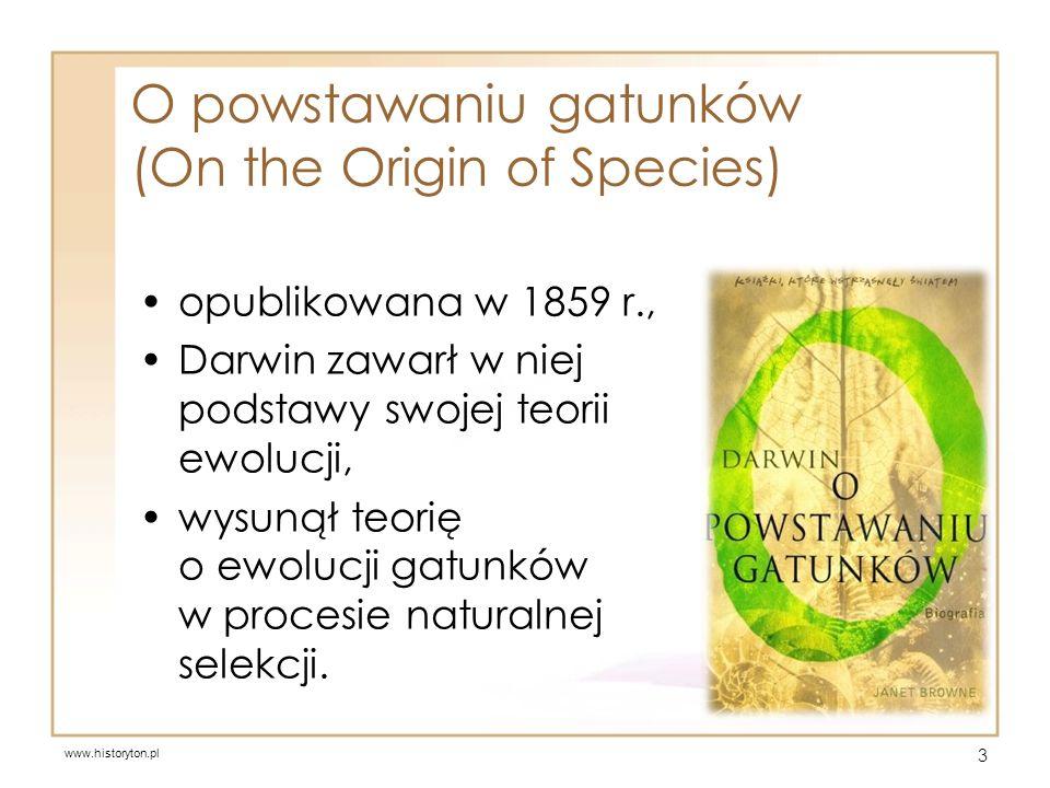 Założenia teorii Karola Darwina zmienność jest cechą charakterystyczną każdej grupy organizmów, jedynie zmienność dziedziczna ma znaczenie w procesie ewolucji, 4 www.pedigreepuppiesforsale.com