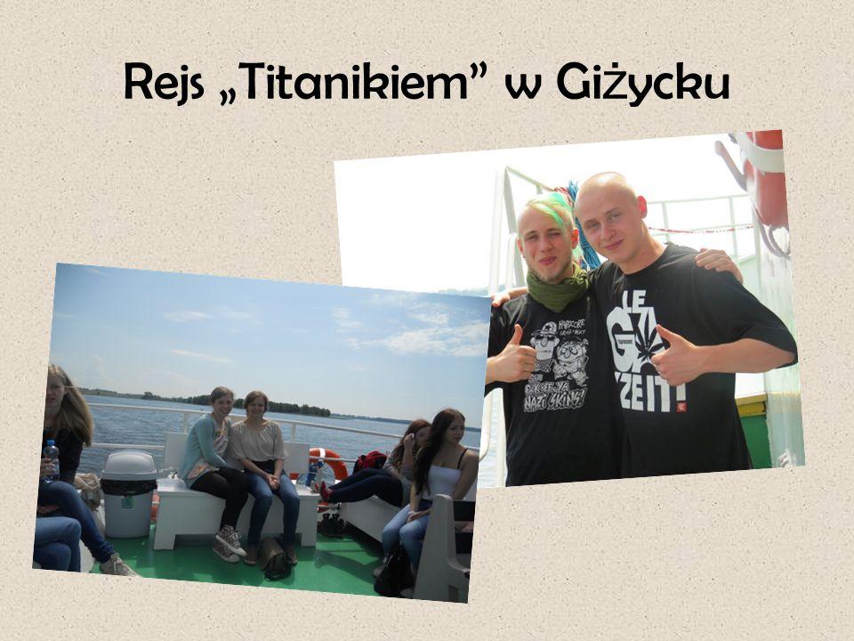 """Rejs """"Titanikiem"""" w Gi ż ycku"""