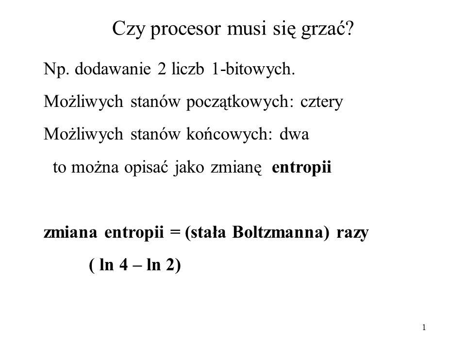 12 (wskaźniki) main() { void funkcja5 ( float** ); float n,*fp; fp = & n; printf( \n poczatek main fp=%p &fp=%p\n , fp, &fp); funkcja5( &fp ); printf( \n koniec main fp=%p &fp=%p\n , fp, &fp); exit(0); } /* koniec funkcji main*/ void funkcja5(float ** wsk) { printf( \n poczatek funkcja5 *wsk=%p wsk=%p &wsk=%p\n , *wsk, wsk, &wsk); *wsk=NULL; printf( \n koniec funkcja5 *wsk=%p wsk=%p &wsk=%p\n , *wsk, wsk, &wsk); } /* koniec funkcji funkcja5 */