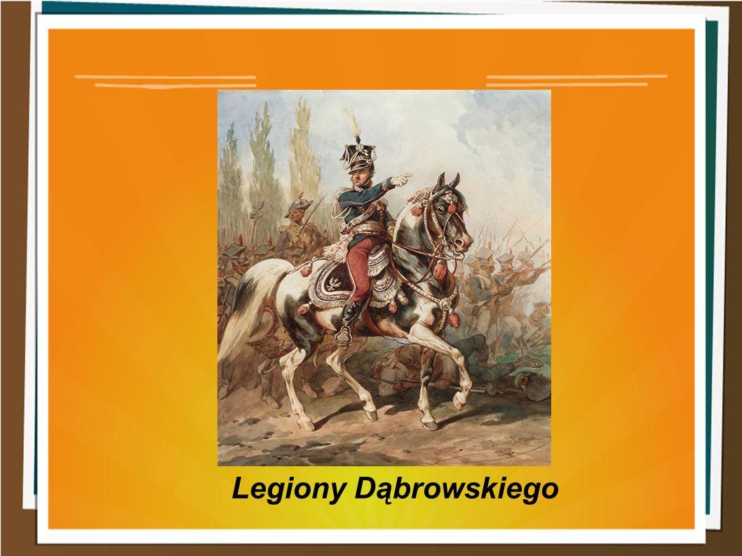Po III rozbiorze nastąpiła emigracja żołnierzy i oficerów z Polski do Włoch i Francji.