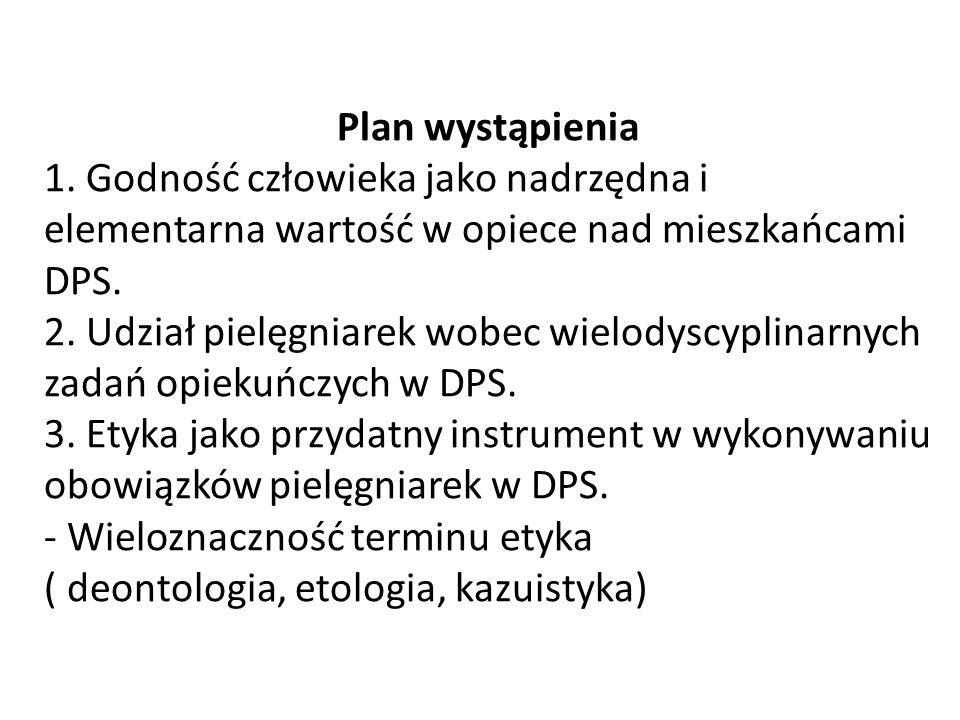 Plan wystąpienia 1.