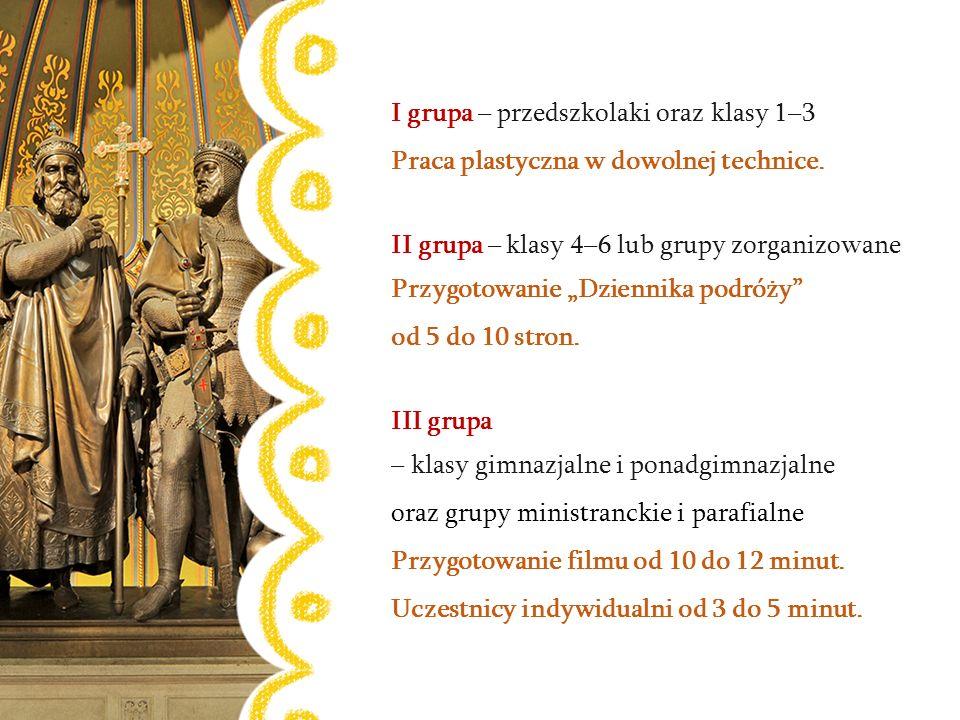 Nagroda główna – wycieczka do Poznania Zwiedzanie Bramy Poznania ICHOT, katedry poznańskiej i podziemi, przejazd tramwajem Traktem Królewskim Wręczenie nagród – Poznań, 29 maja