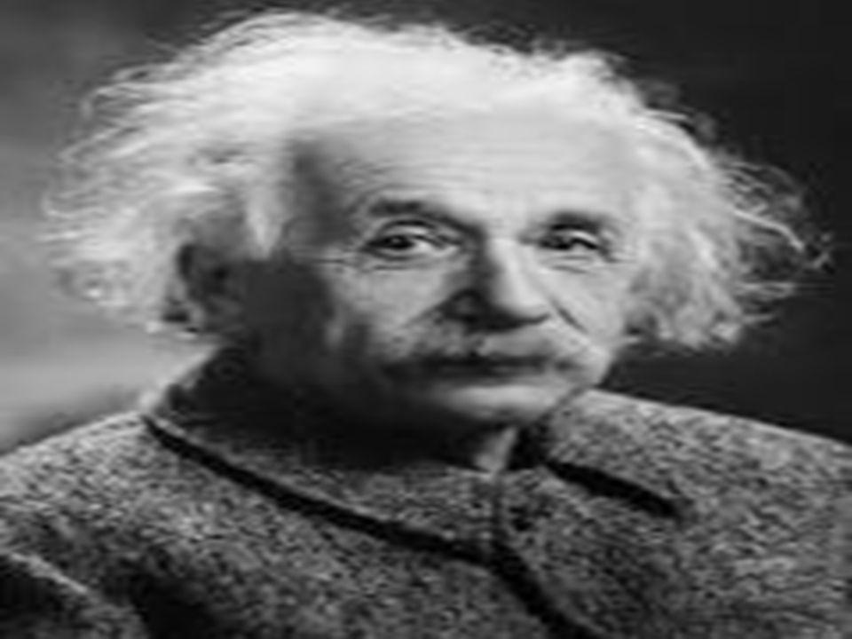 Albert Einstein Urodził się w 1879 roku.