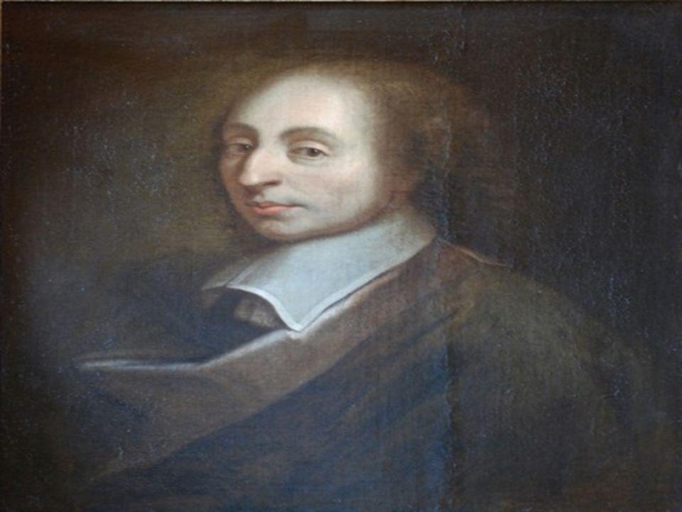 Pascal Blaise Urodził się w 1623 roku.