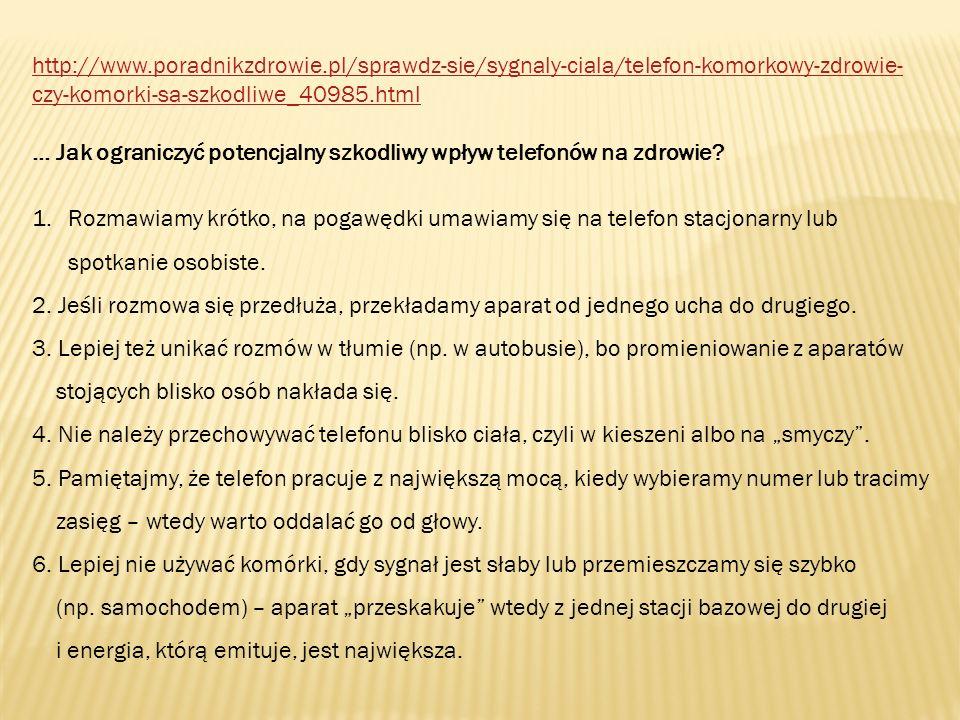 http://www.madredziecko.com/ Małe urządzenia, wielka niewiadoma ….