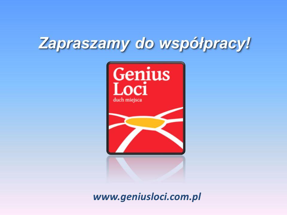 Zapraszamy do współpracy! www.geniusloci.com.pl