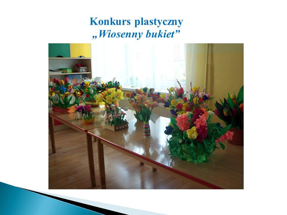 """Konkurs plastyczny """"Wiosenny bukiet"""""""