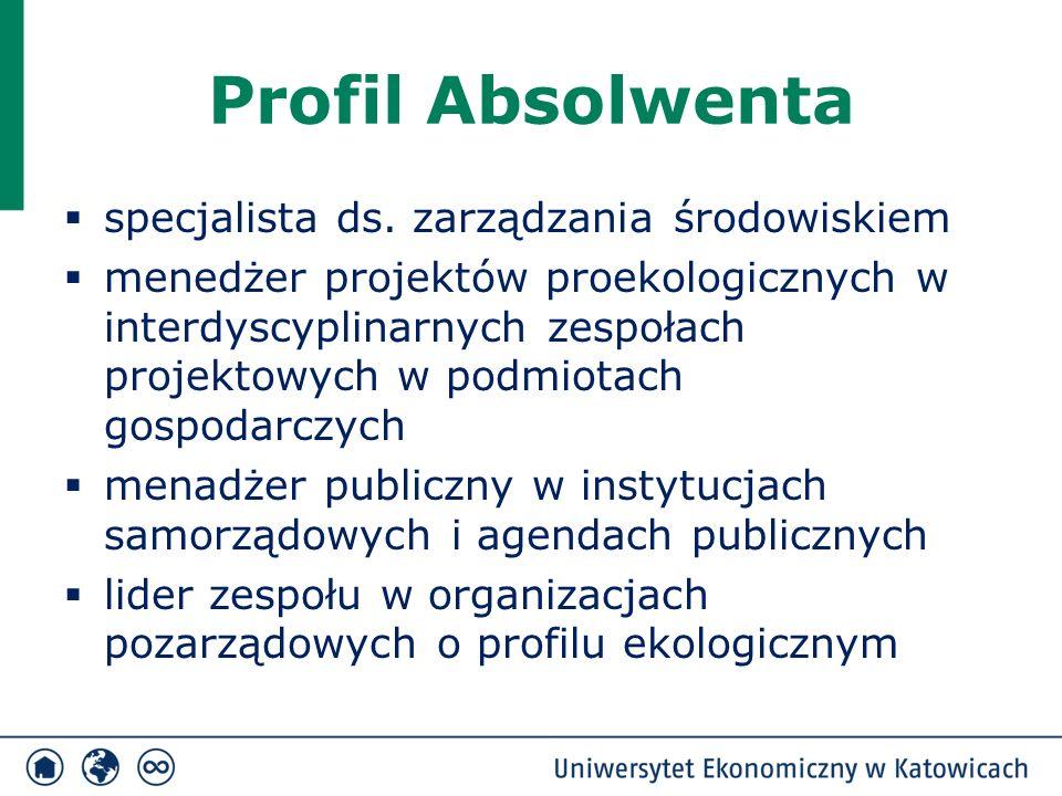 Profil Absolwenta  specjalista ds.