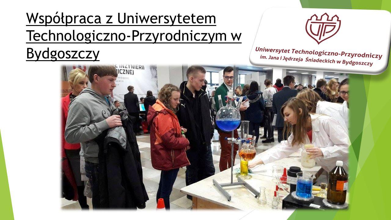 Współpraca z Uniwersytetem Technologiczno-Przyrodniczym w Bydgoszczy