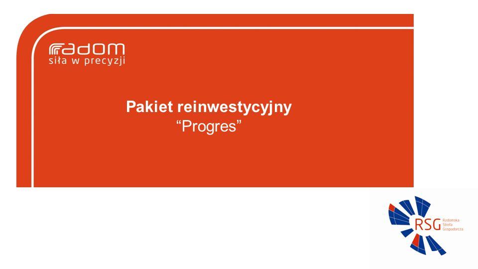 Pakiet reinwestycyjny Progres