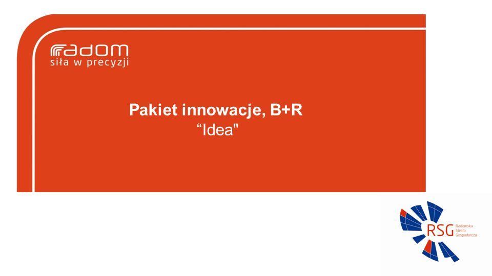 Pakiet innowacje, B+R Idea