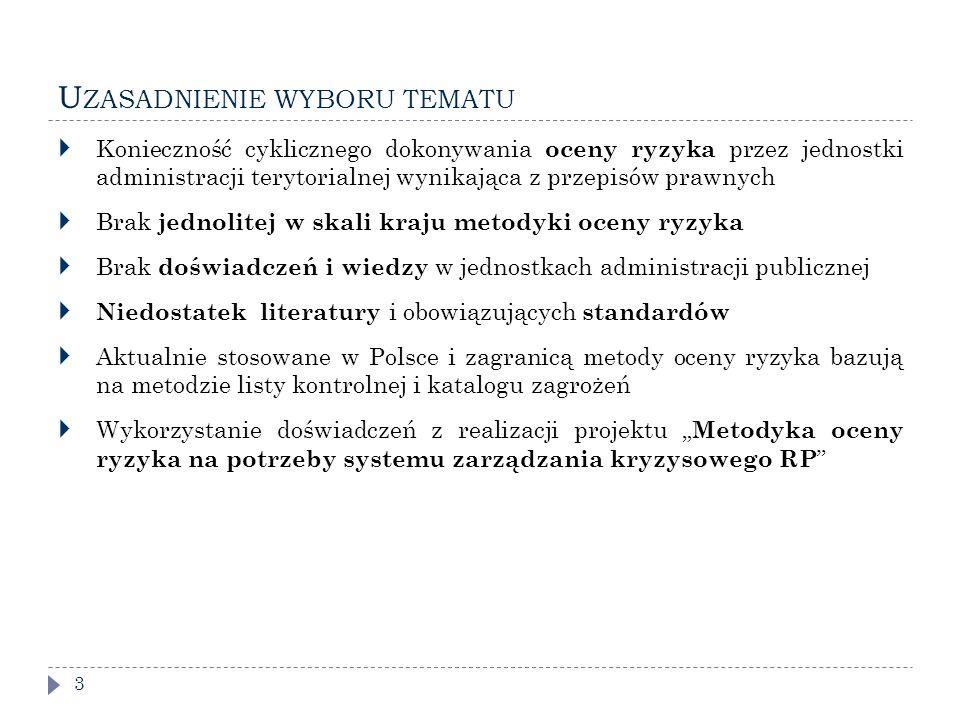 P ROGRAM BADAŃ I METODY BADAWCZE 14 Etap 1.