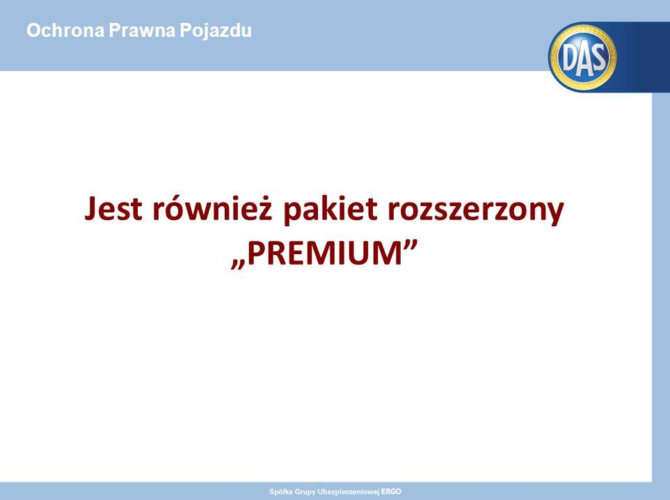 """Ochrona Prawna Pojazdu Jest również pakiet rozszerzony """"PREMIUM"""
