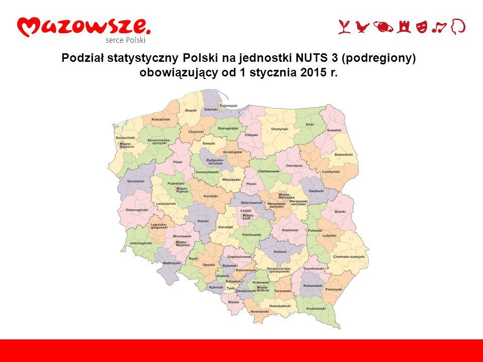 PL0POLSKA NUTS 0 PL1 REGION CENTRALNY NUTS 1 PL12MazowieckiNUTS 2 PL12CPłocki podregionNUTS 3 Obowiązujący podział statystyczny Mazowsza na NUTS od 2015 r.