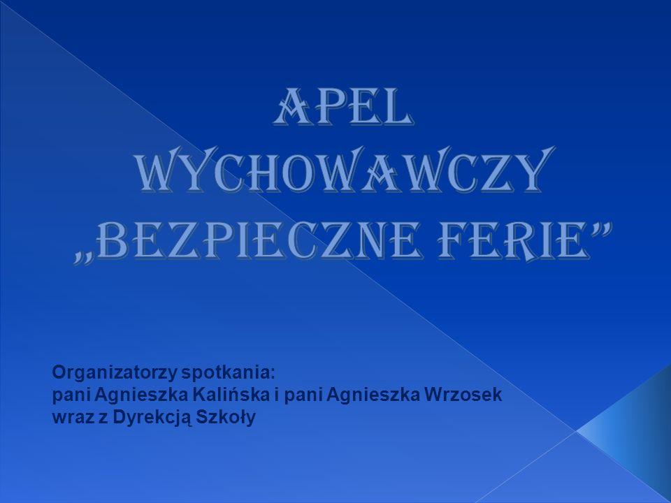 Organizatorzy spotkania: pani Agnieszka Kalińska i pani Agnieszka Wrzosek wraz z Dyrekcją Szkoły