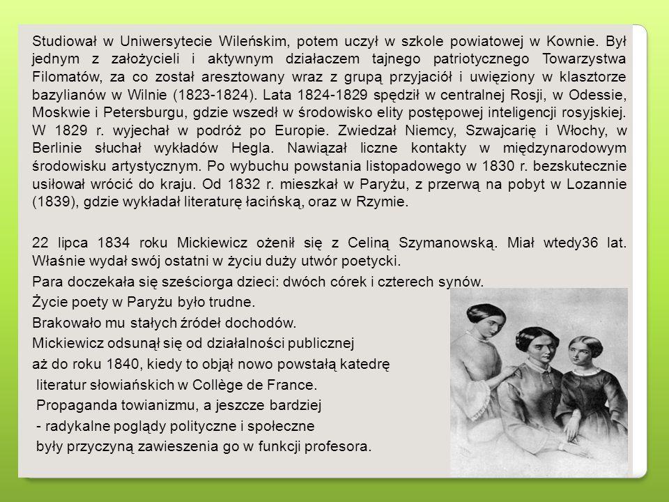 Studiował w Uniwersytecie Wileńskim, potem uczył w szkole powiatowej w Kownie. Był jednym z założycieli i aktywnym działaczem tajnego patriotycznego T