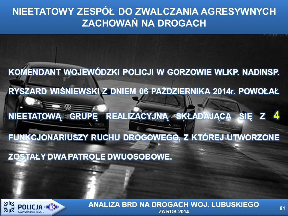 81 KWP GORZÓW WLKP.
