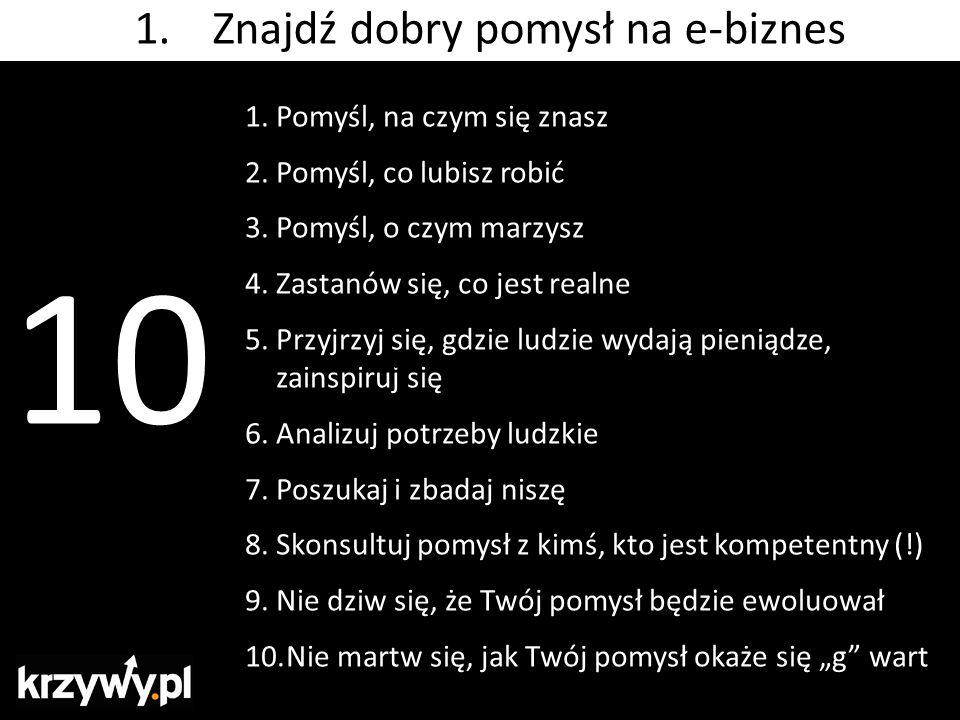 3. bez polskich liter http://gwozdzie.pl/ http://gwoździe.pl/ 8. Znajdź optymalną domenę