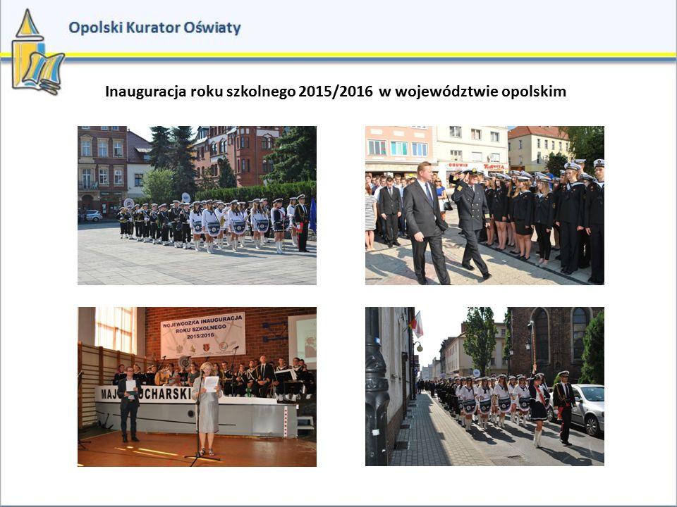 Inauguracja roku szkolnego 2015/2016 w województwie opolskim