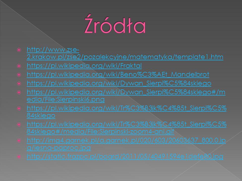  http://www.zse- 2.krakow.pl/zse2/pozalekcyjne/matematyka/template1.htm http://www.zse- 2.krakow.pl/zse2/pozalekcyjne/matematyka/template1.htm  http