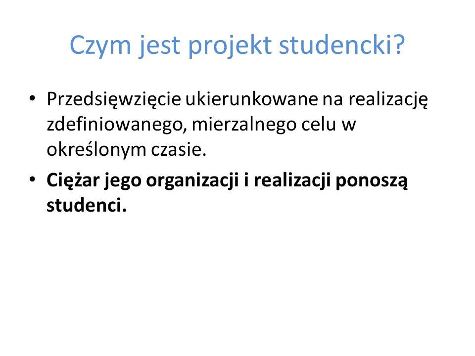 Czym jest projekt studencki.