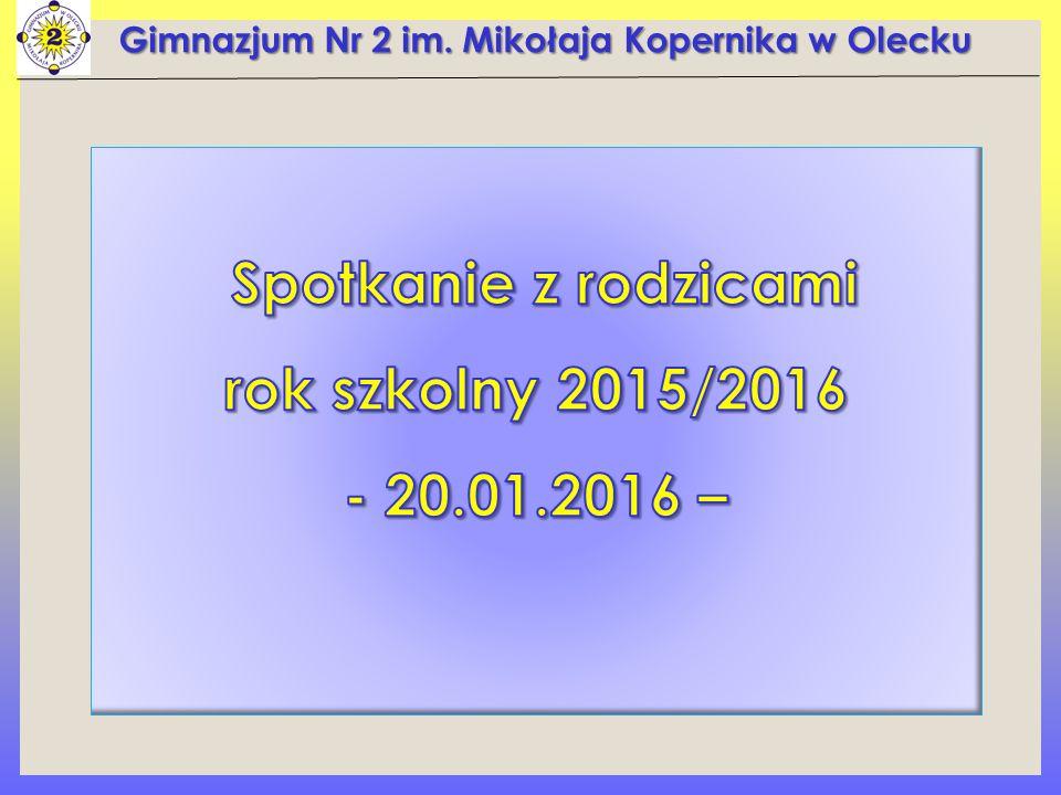 Gimnazjum Nr 2 im. Mikołaja Kopernika w Olecku