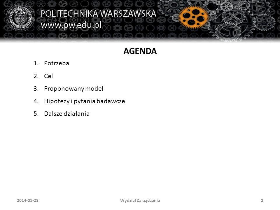 Wydział Zarządzania232014-05-28 Publikacje 5.Rostek K., Wiśniewski M.