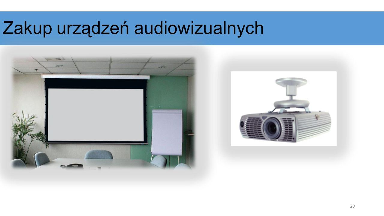 Zakup urządzeń audiowizualnych 20