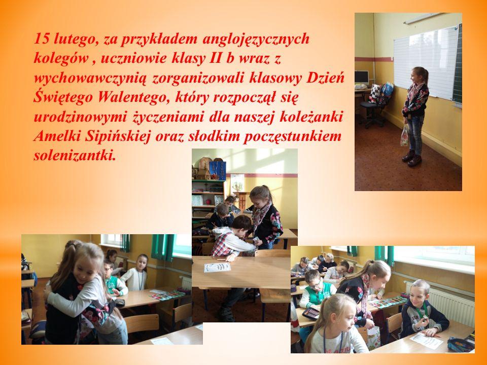 Wszyscy ochoczo wzięli się do pracy i po chwili klasa była gotowa.