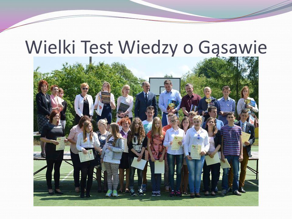 Wielki Test Wiedzy o Gąsawie