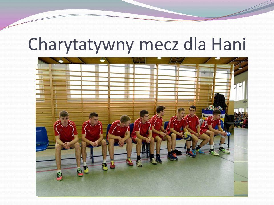 Charytatywny mecz dla Hani