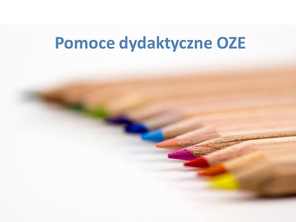Pomoce dydaktyczne OZE