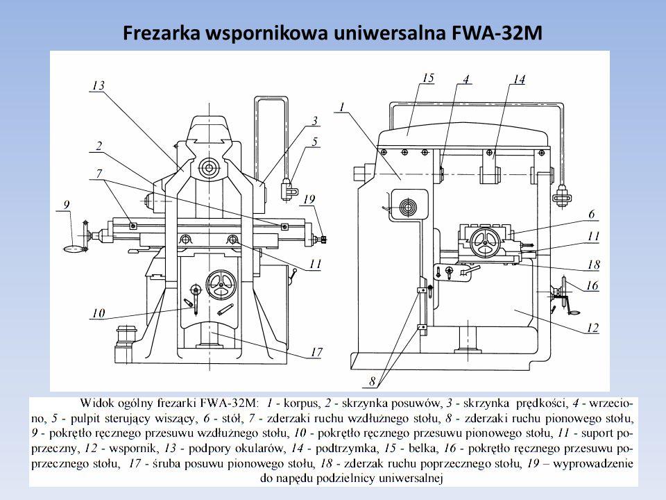 Frezarka wspornikowa uniwersalna FWA-32M 2016-02-2911