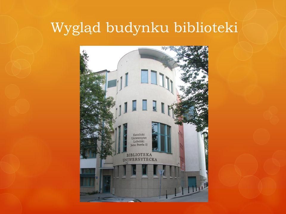 Wygląd budynku biblioteki