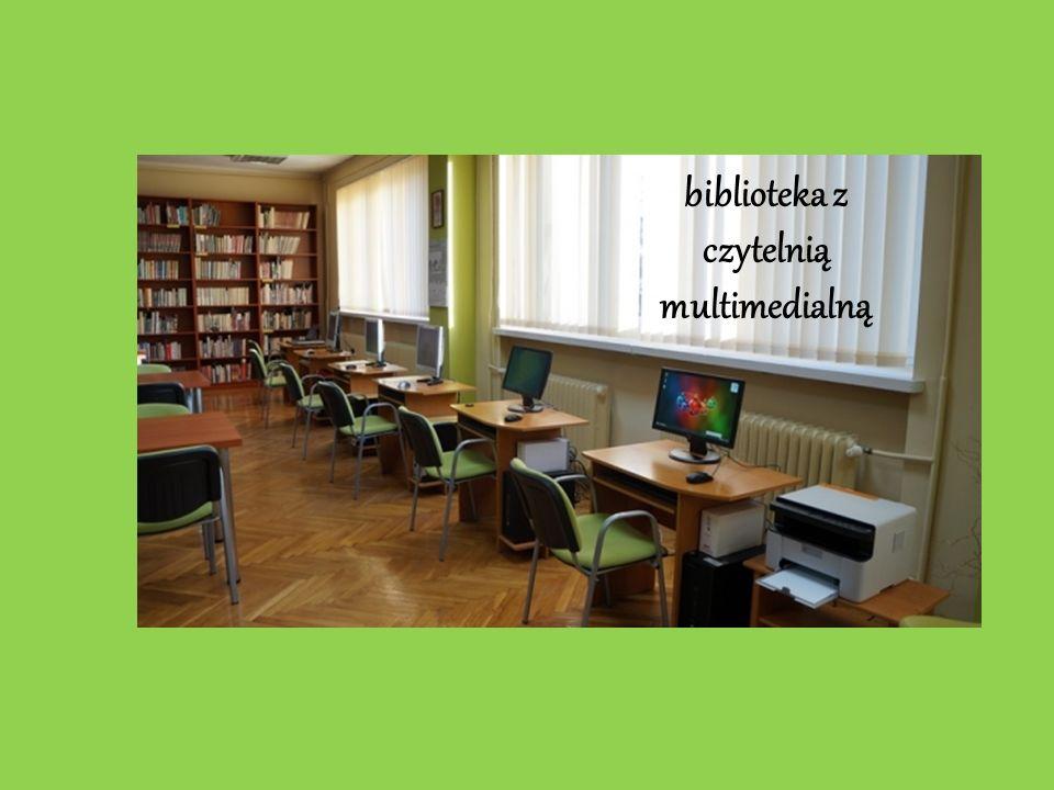 biblioteka z czytelnią multimedialną